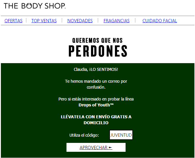 the body shop newsletter 2